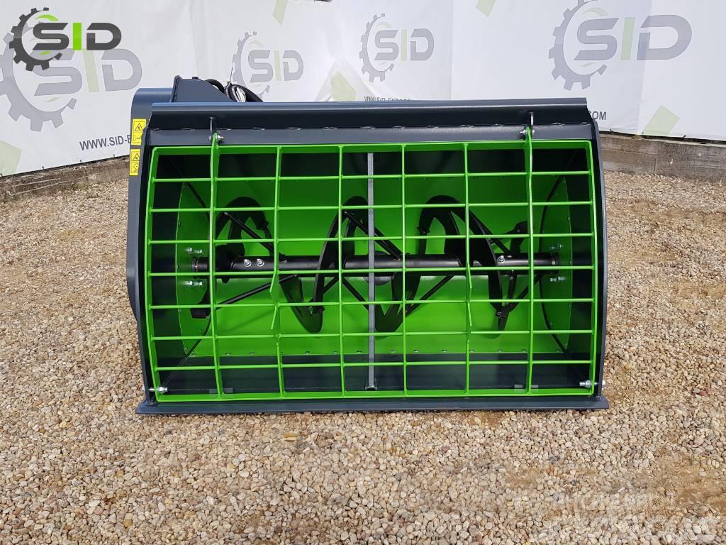 SID Bucket Concrete Mixer / Godet malaxeur à béton