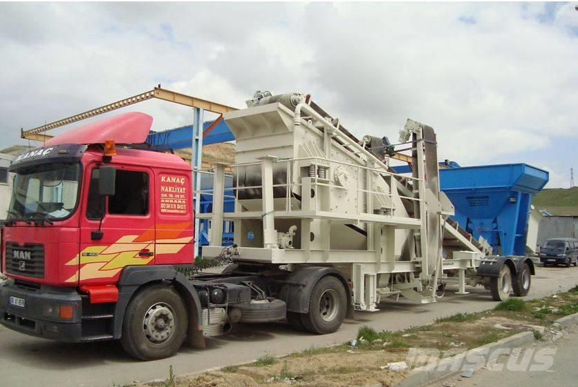 Constmach MOBILE SCREENING & WASHING PLANT FOR SALE