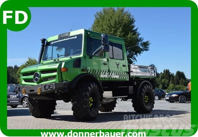 Unimog Unimog 1450 Doka, Doppelkabine, FUNMOG, 95 km/h