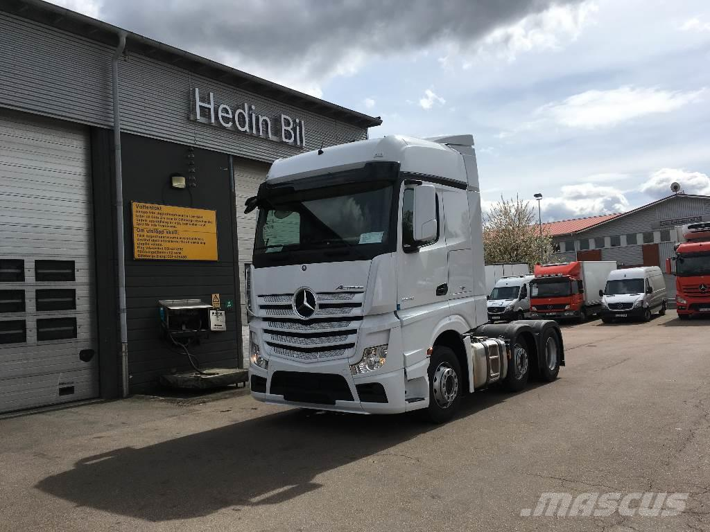 Used Mercedes-Benz Actros 2546 tractor Units Year: 2018 Price: US ...
