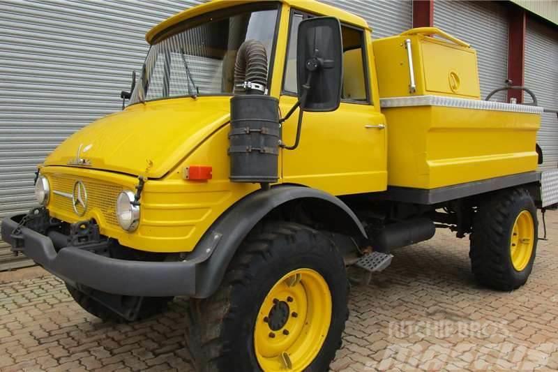 Unimog 4x4 Fire Truck