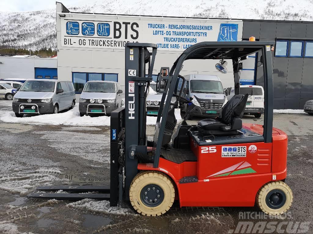 Heli CPD25-GD2 (G) - 2,5 tonns el. truck (PÅ LAGER)
