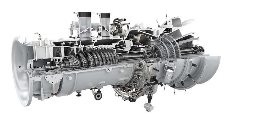 Siemens SGT-600 gas turbine