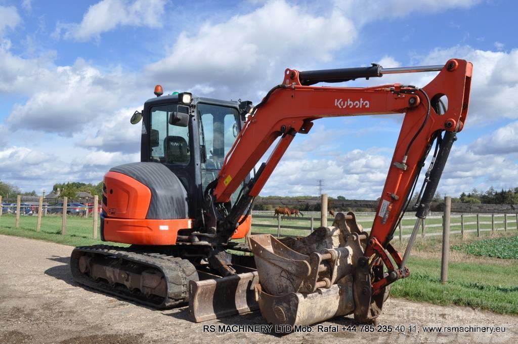 Kubota U48 4 48t Mini Excavator 4 Buckets St Albans Mini