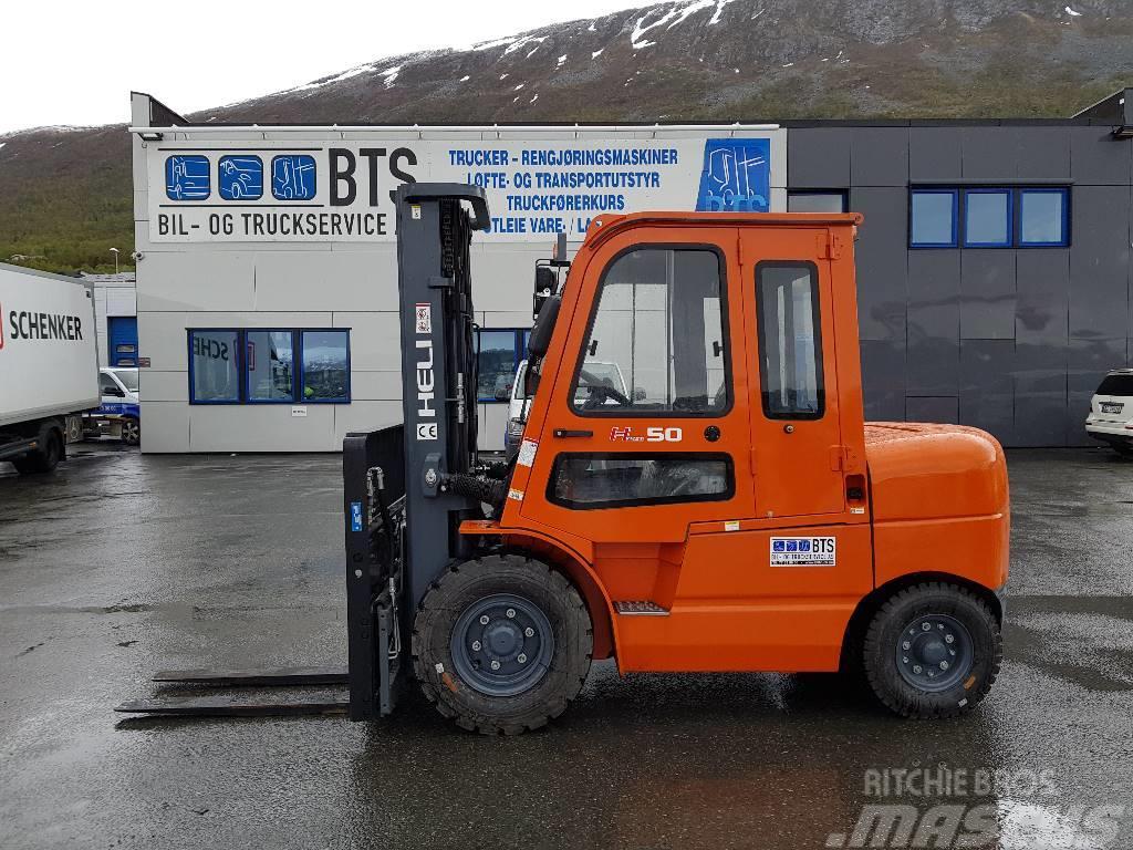 Heli CPCD50-CU6 - 5 tonns dieseltruck (på lager)