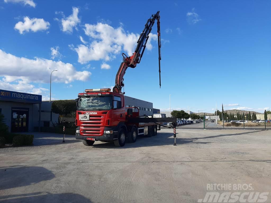 Scania + FASSI R420LB8X2 +FASSI XP600