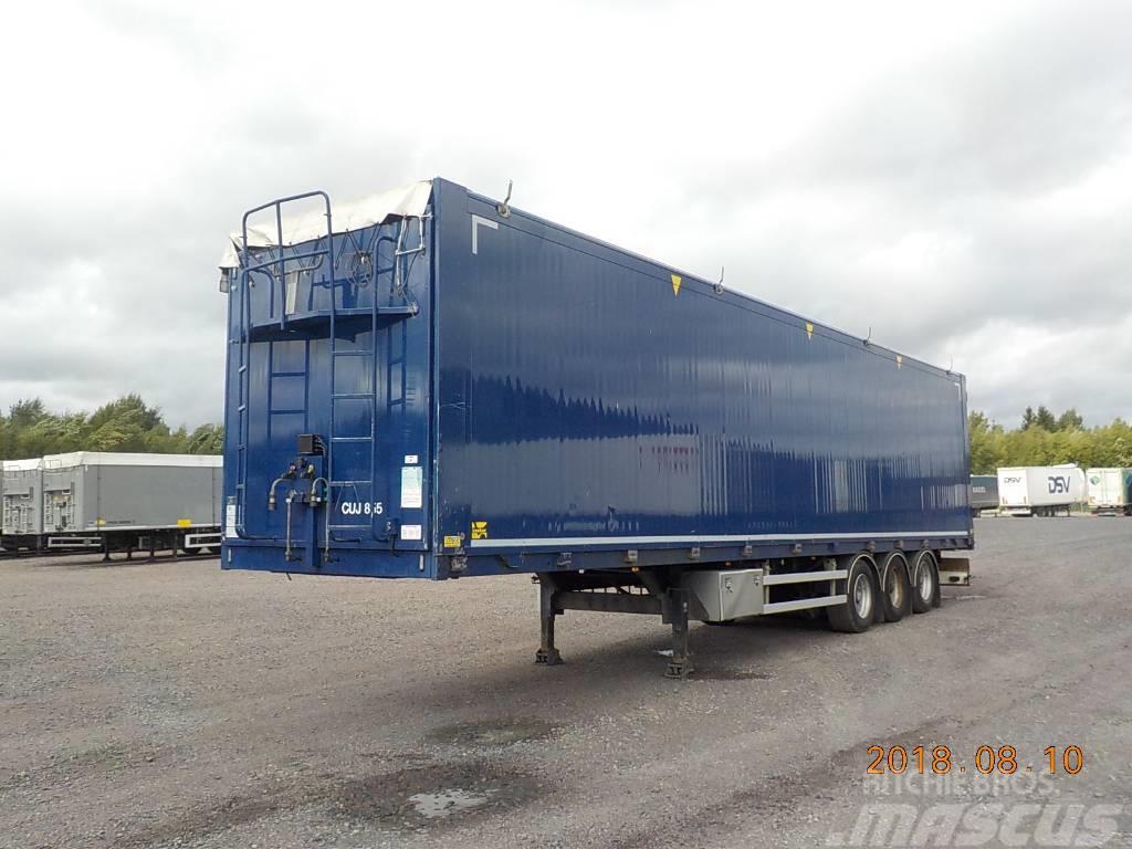 Kraker MOVING FLOOR CF503 - HYDRAULIC OPENSIDE - CUJ855