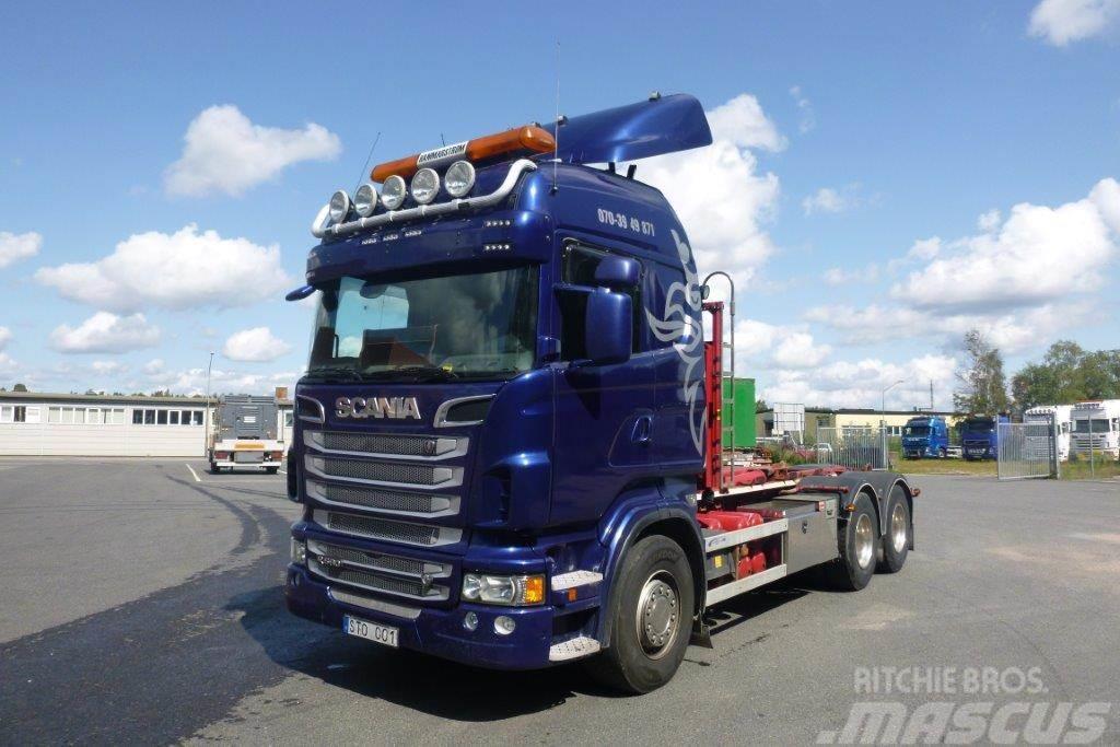 Scania R 560 6x4 Lastväxlare