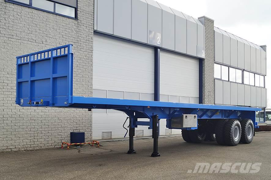 Invepe SPAF 2DBB 126 40 2 AXLE FLATBED TRAILER (5 units)