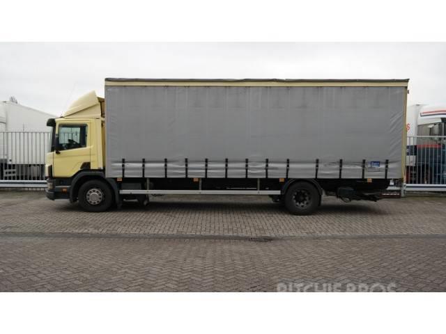 Scania 94 D/260 CURTAINSIDE TRUCK