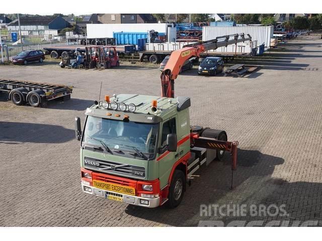 Volvo FM12.340 4X2 Palfinger Crane