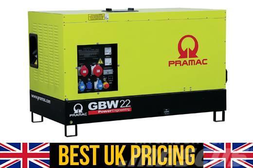 Pramac GBW22P 15kVA Single Phase UK Perkins Home Genset