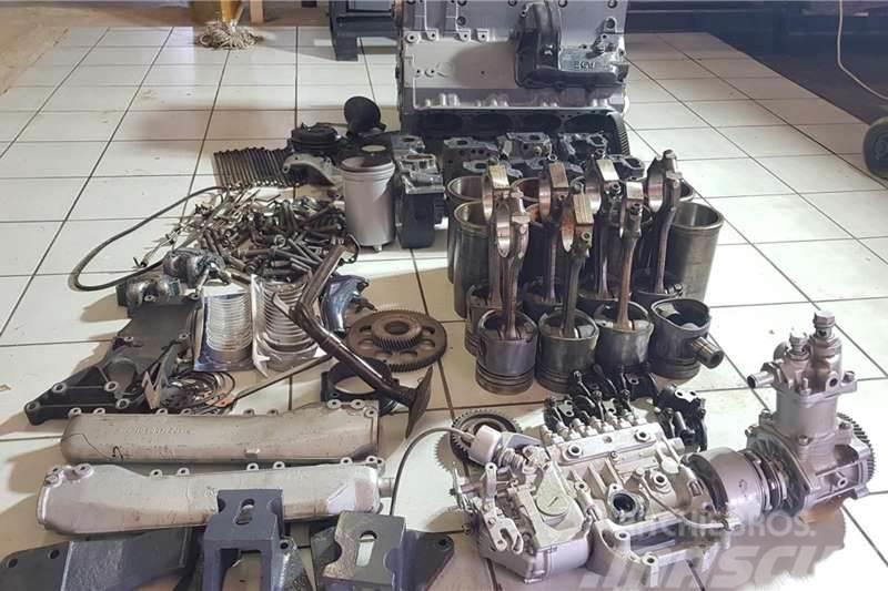 Mercedes-Benz OM 402 T Engine Stripping For Spares