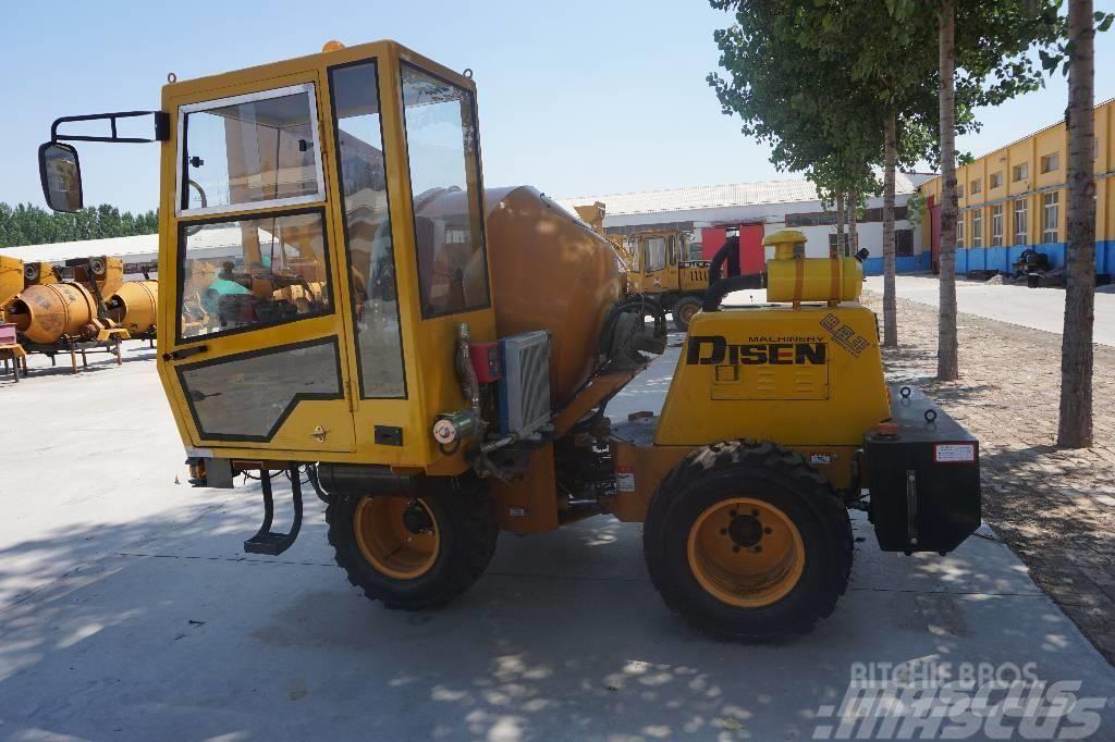 Disenwang 迪森王  Concrete mixerDZJC-自行走式
