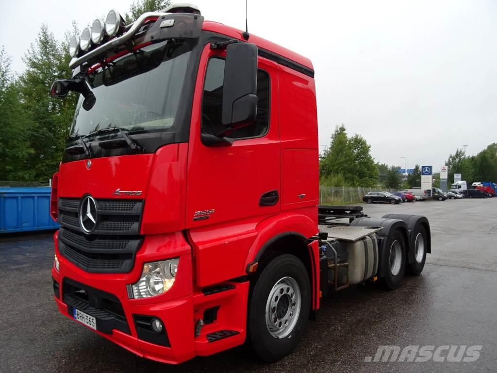 Used mercedes benz actros 2551ls 6x4 tractor units year for Mercedes benz astros