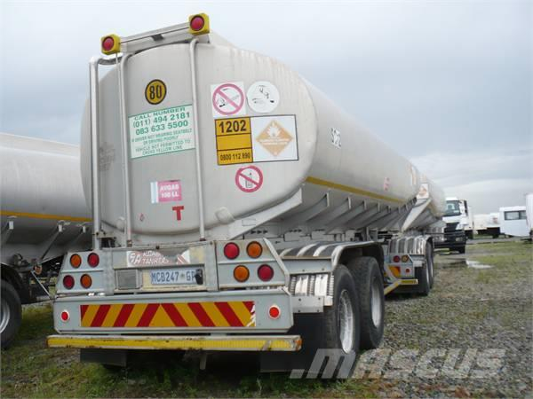 [Other] SA Road Tanker Trailers Fuel Tankers