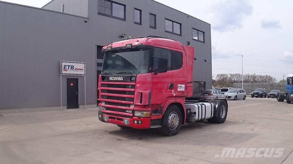 Scania 124 - 400 (MANUAL PUMP AND GEARBOX / BOITE MANUELL