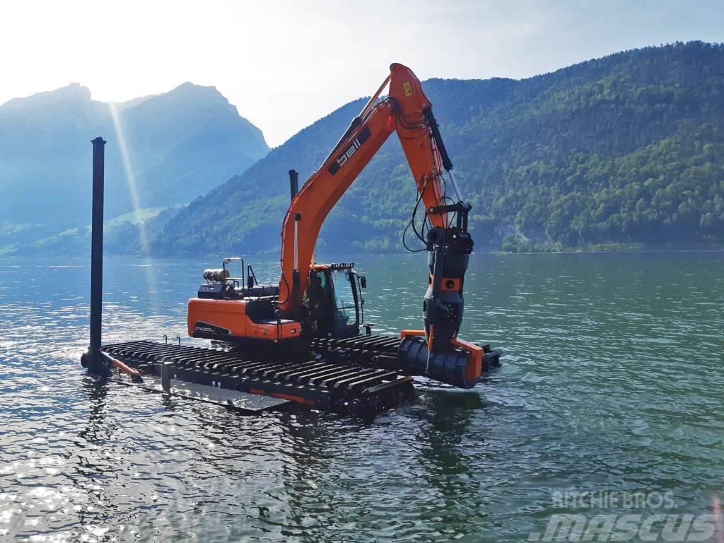 Bell Amphibious Excavator Doosan DX225lc-5
