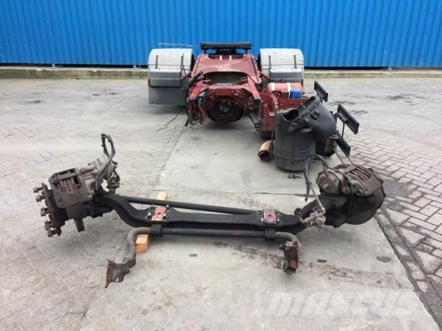 Iveco 3 UNITS, Front and Rear axle with dish
