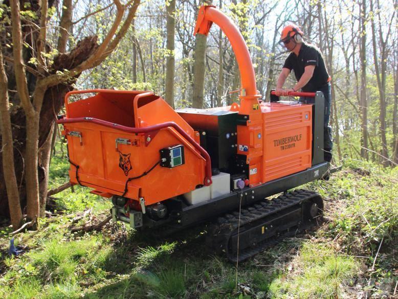 Timberwolf TW 230VTR Holzschredder - Holzhäcksler