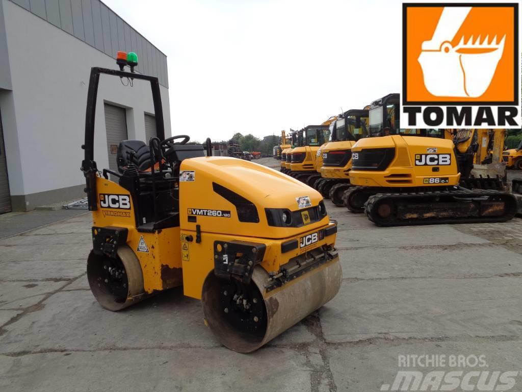 JCB Vibromax VMT 260-120  | AMMANN AV26-2 VOLVO DD25B Cat CB114