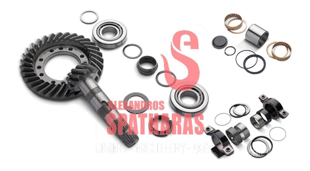 Carraro 68994seals and brake giscs kit