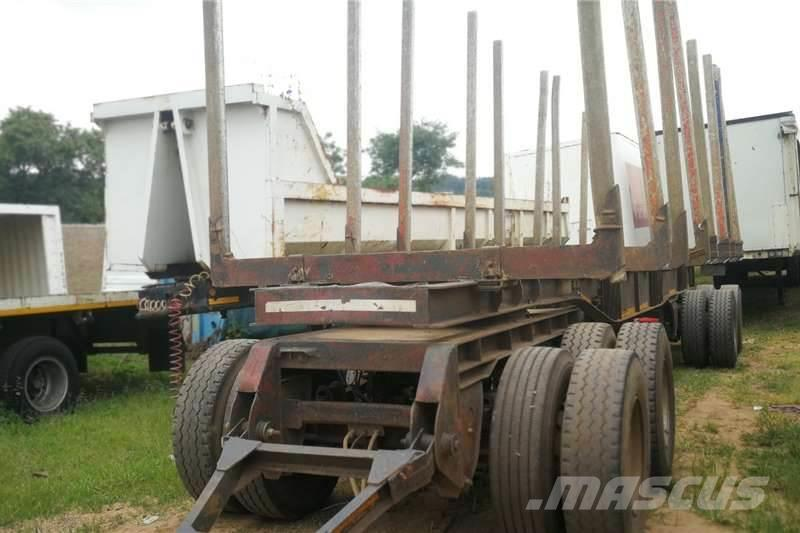Sa Truck Bodies Drawbars/Cable Carrier Trailers