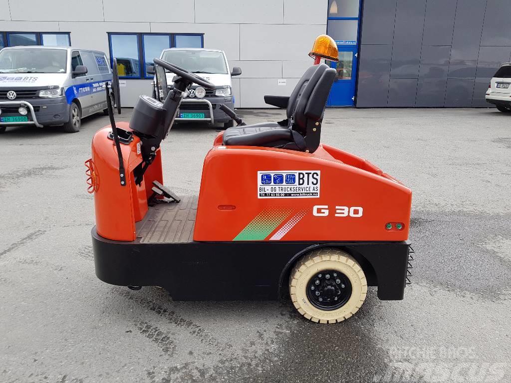 Heli QYD30S-E1 - 3 t elektrisk trekkvogn (SOLGT)