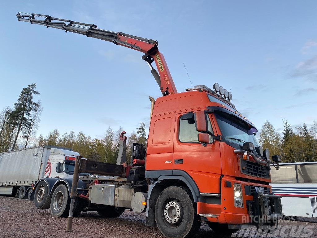 Volvo FM12 ,420 Lastväxlare / Kran