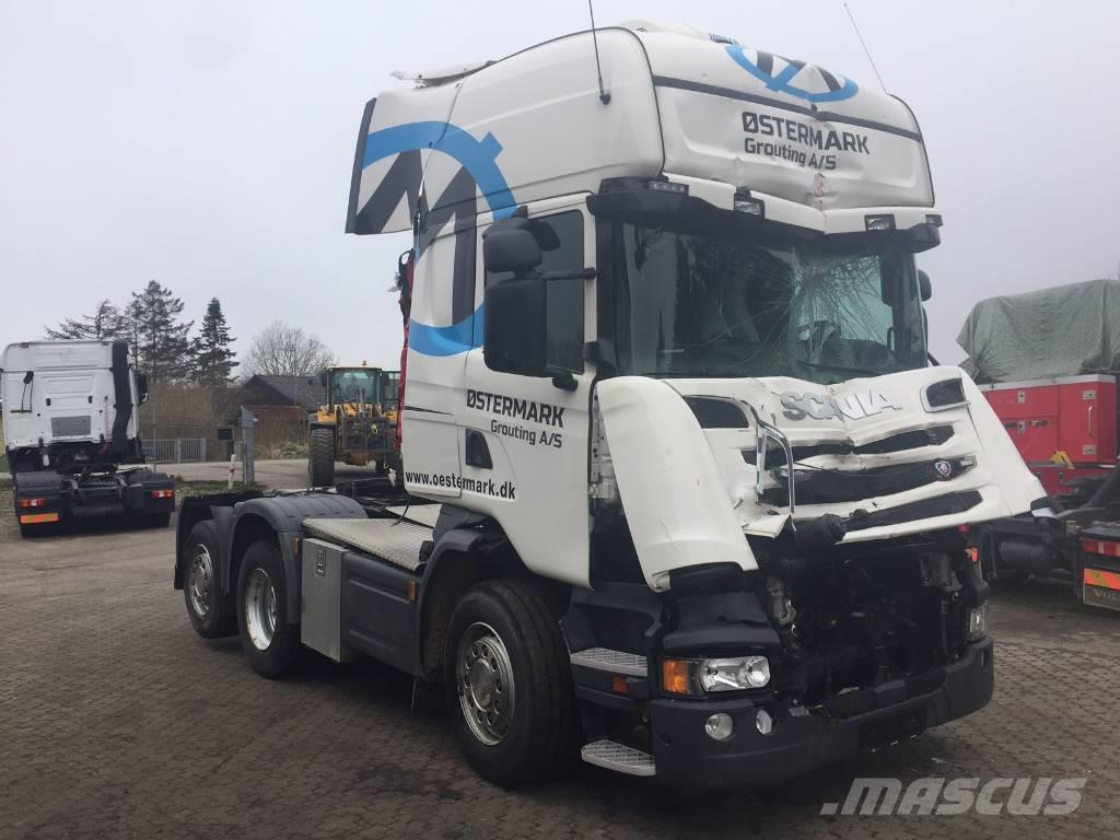 Scania R520 6X2 EURO 6 V8 DAMAGE