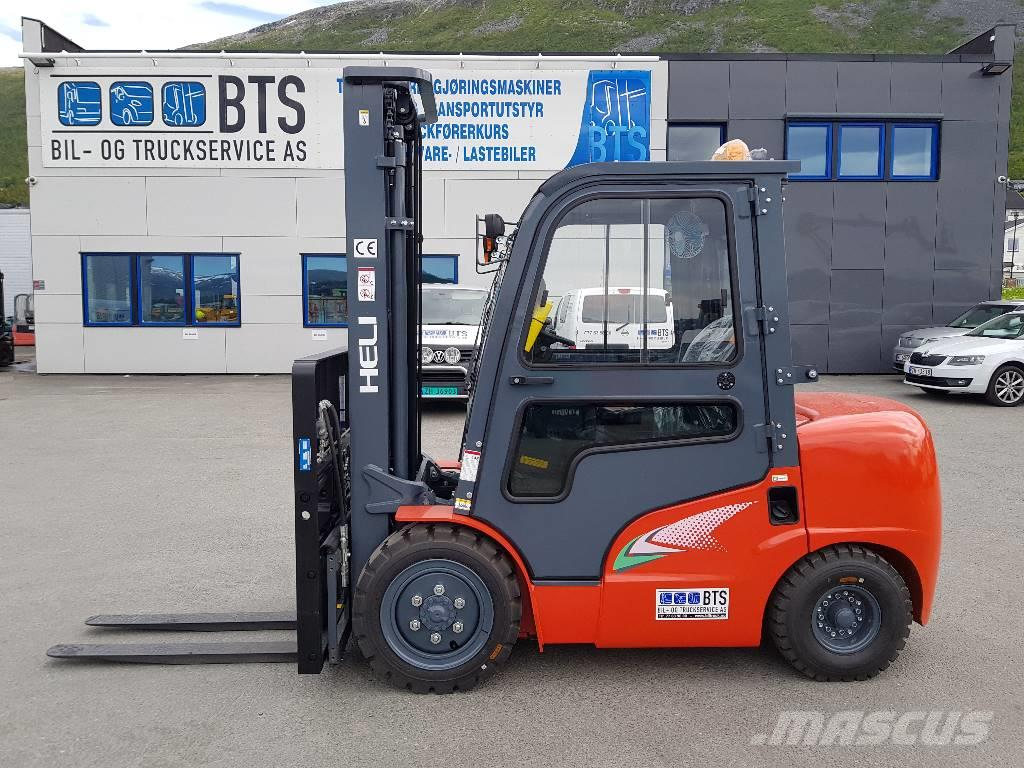 Heli CPCD35 (G2) - 3,5 tonns dieseltruck (på lager)