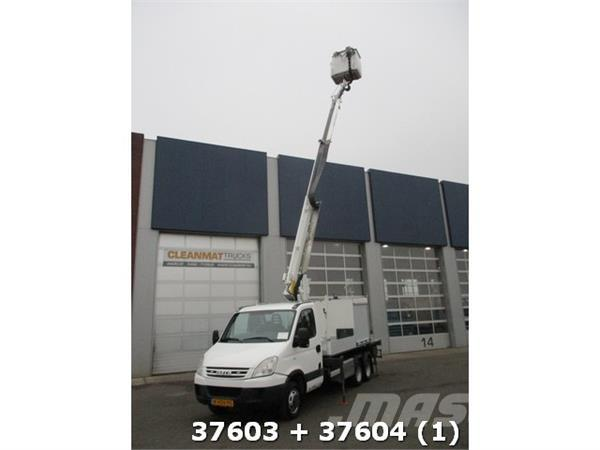Iveco Daily 40 C 18 +Veldhuizen Colombo 16 meter Klein r