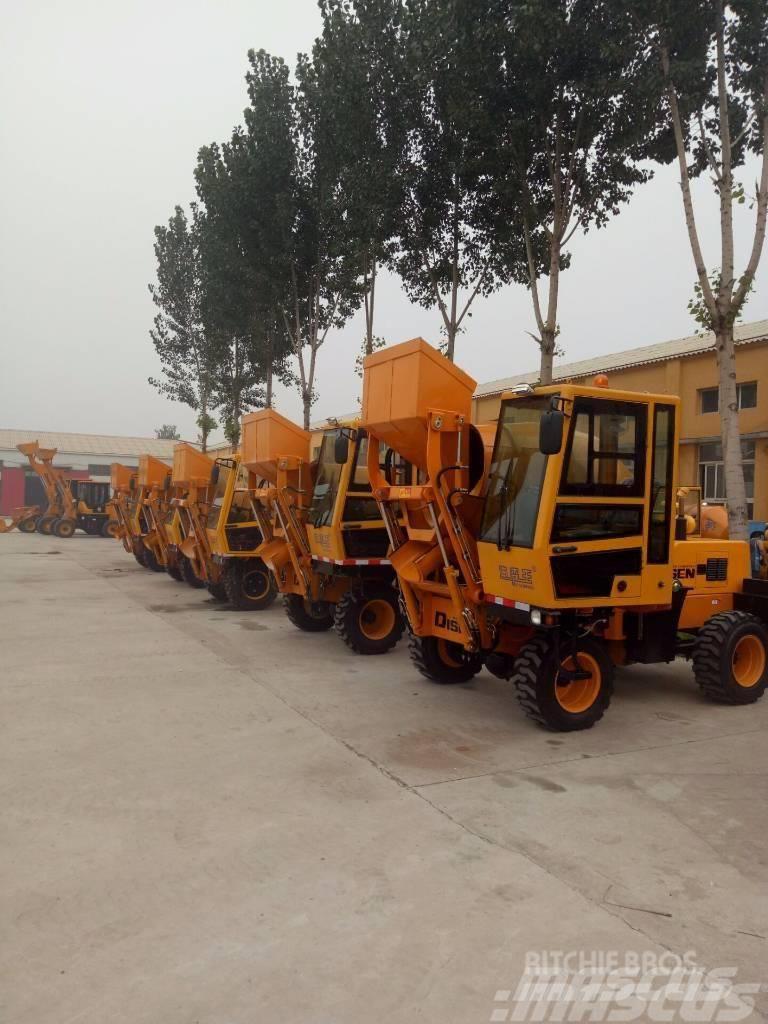 Disenwang 迪森王  2016DZJC- Concrete mixer 0.5