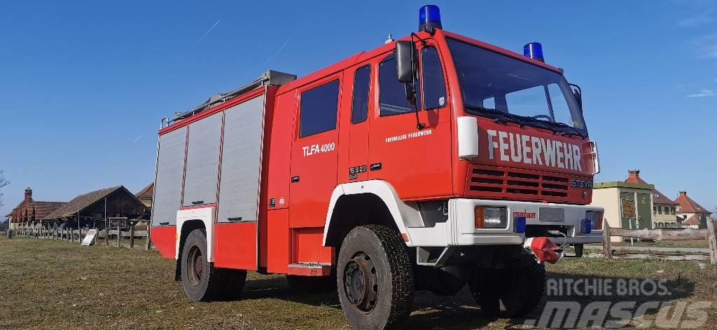 Steyr 15S23 TLF 4000 Feuerwehr Firetruck Autobomba