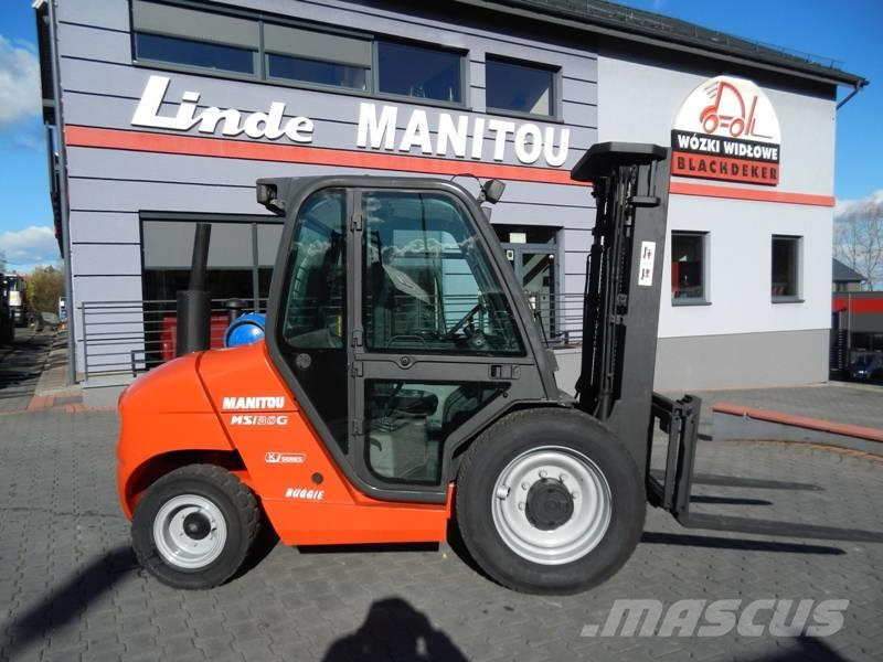 Manitou MSI30G Side shift , Triplex