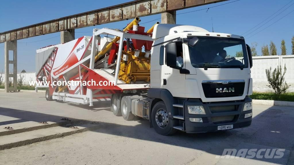 Constmach 30 m3/h - PORTABLE – CALL NOW !!!