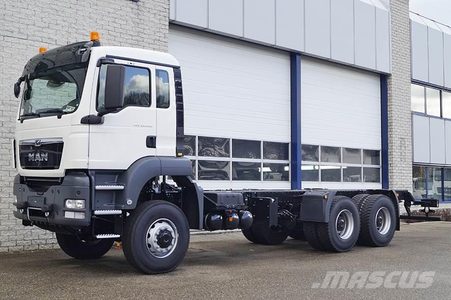 MAN TGS 33.400 BB-WW CHASSIS CABIN (2 units)