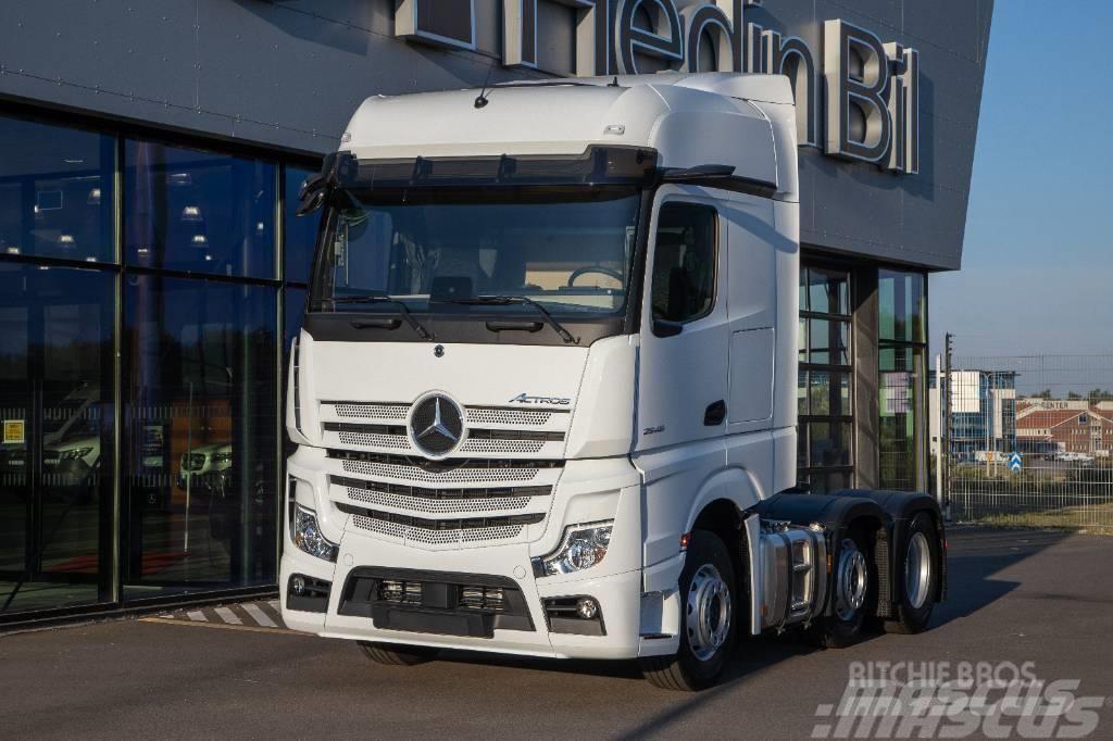 Mercedes-Benz Actros 2546 LS Pusher