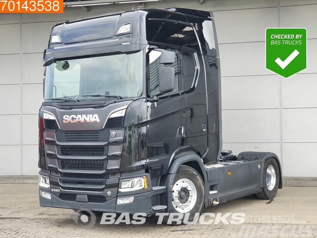 Scania S520 4X2 V8 Retarder 2x Tanks Navi LED Alcoa's