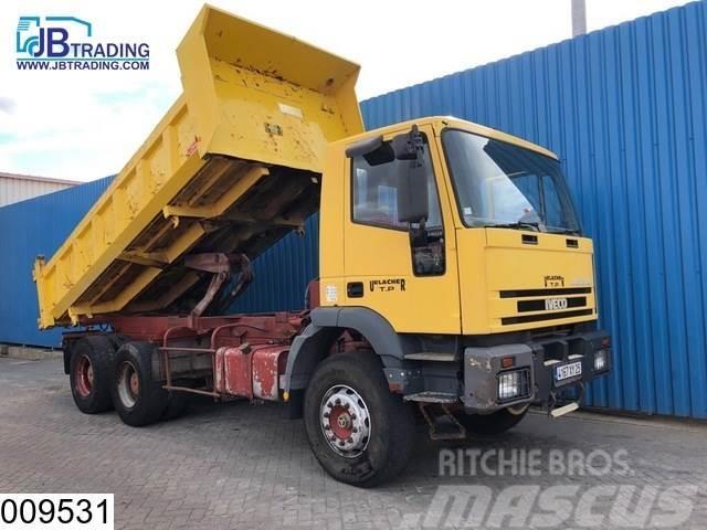 Iveco 330E34 Eurotrakker, 6x4, Manual, Steel suspension,