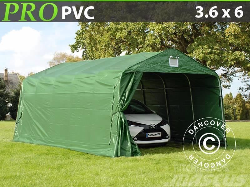 Dancover Portable Garage 3,6x6x2,68m PVC, Lagertelt