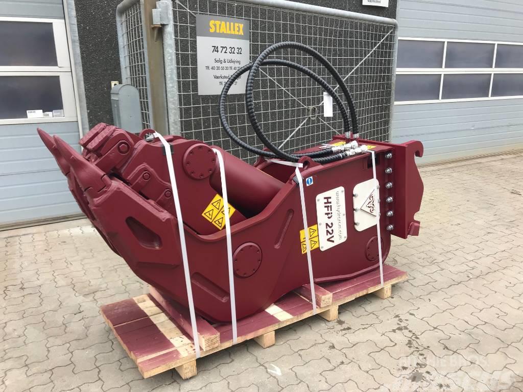 Hydraram HFP22V 2180 kg SMASHER/PULVERIZER/PULVERISIERER