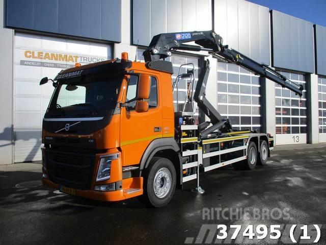 Volvo FM 410 Euro 6 HMF 21 ton/meter laadkraan
