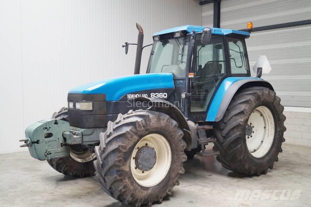new holland 8360 occasion  ann u00e9e d u0026 39 immatriculation  1998