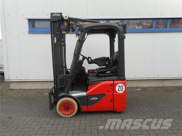 used linde e12 br386 electric forklift trucks year 2014 price 18 854 for sale mascus usa. Black Bedroom Furniture Sets. Home Design Ideas