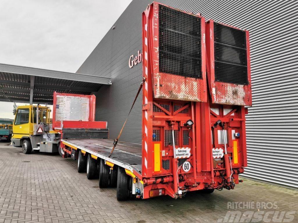 Goldhofer Meusburger MPG-4 Powersteering Ramps!
