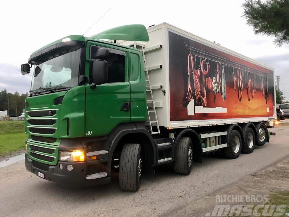 Scania 10X4 WYWROTKA PASZOWÓZ R 440