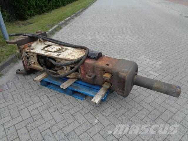 Euroram Hydraulikhammer Abbruchhammer Defekt RM 140