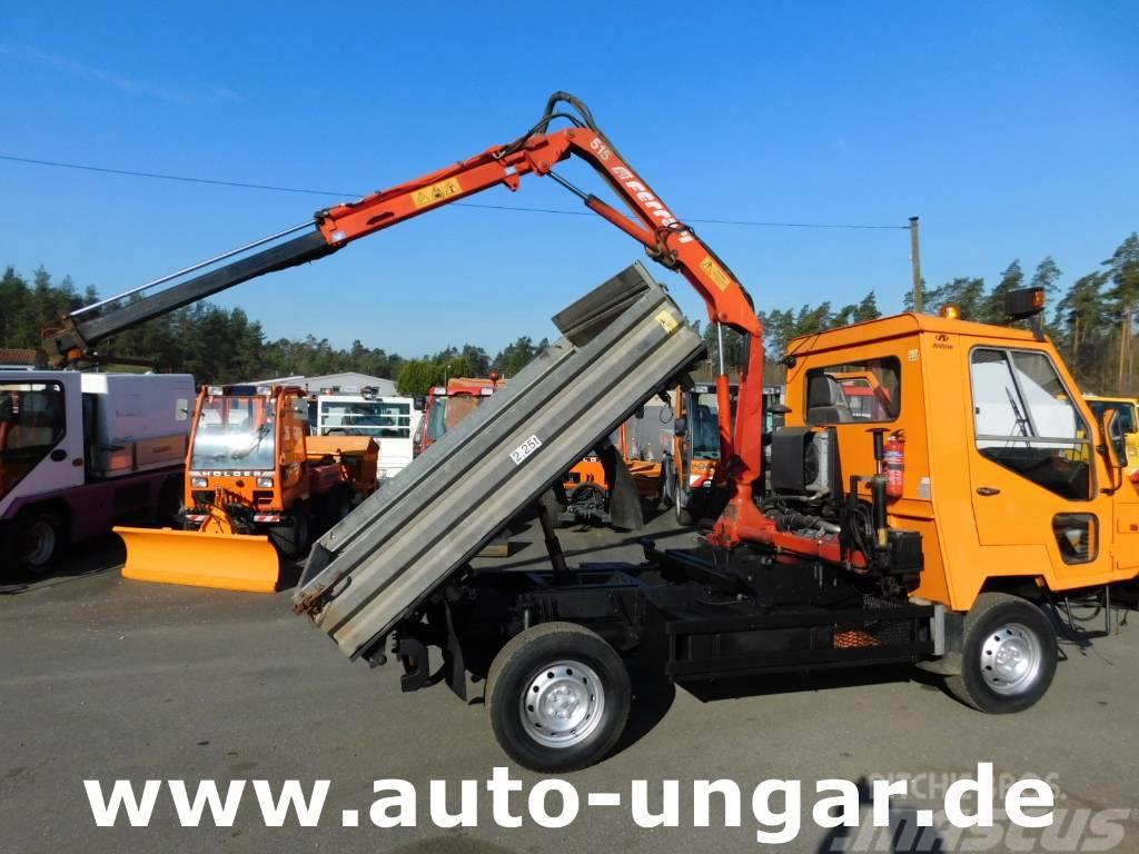 Multicar Magma Car Alfine Alfine 4x4 Kipper Kran 90km H 3