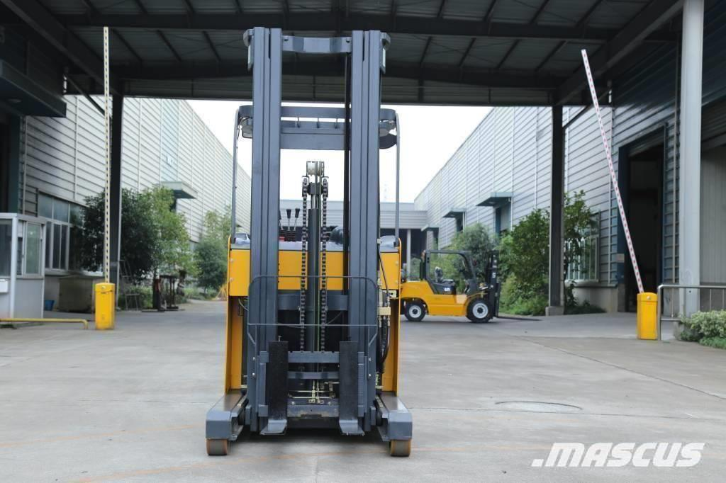 UN Forklift FBR18 Stand-on Reach Truck with Mast 6000mm